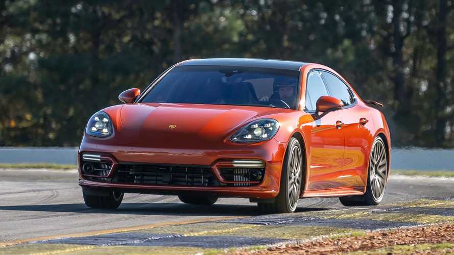 2021 Porsche Panamera Turbo Setting Record At Michelin Raceway Road Atlanta
