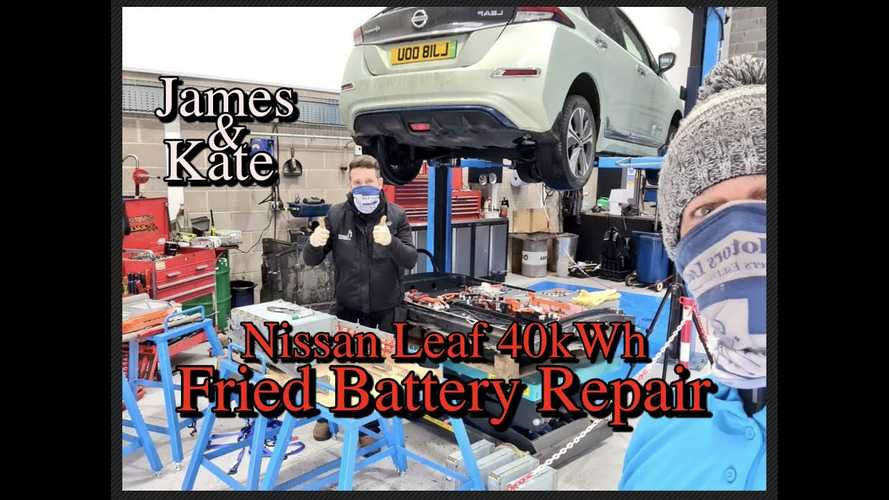 This Nissan Leaf Repair Shows Why Liquid-Cooling Is What EVs Need