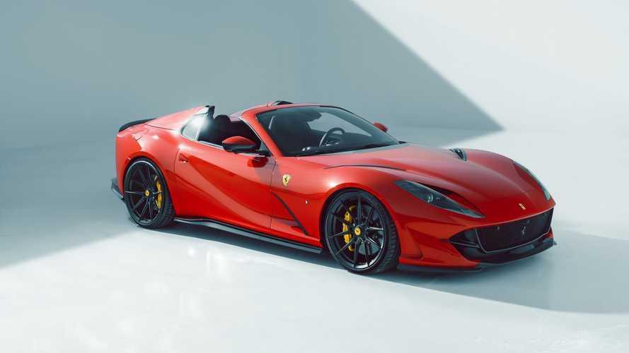 Así es el Ferrari 812 GTS preparado por Novitec