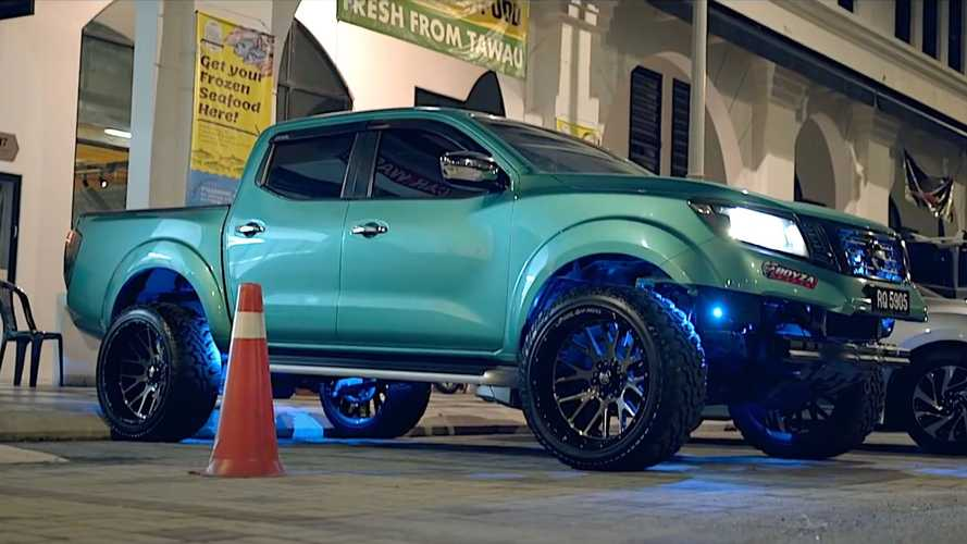 Vídeo: Monster Navara NP300, un pick-up con enormes neumáticos