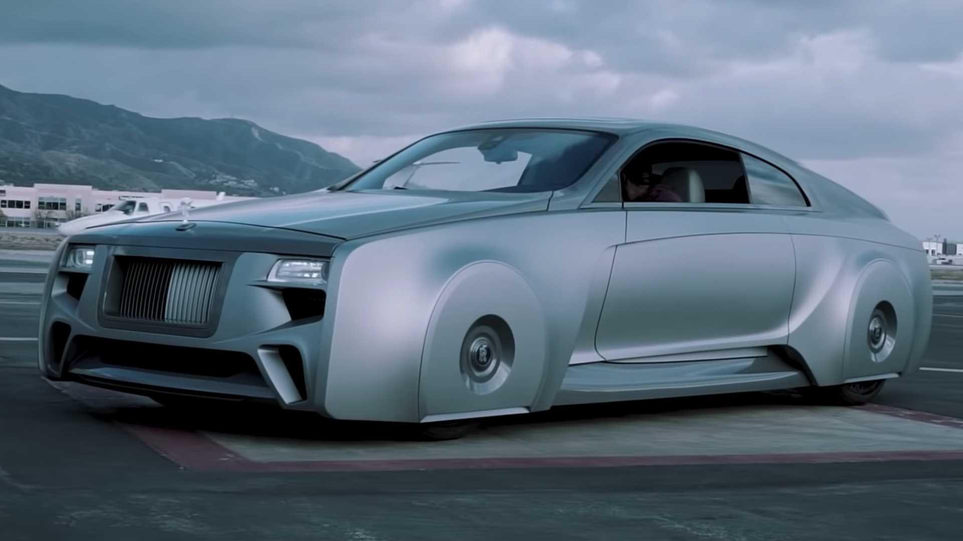 Таможня Западного побережья показывает, как они построили странный Rolls-Royce Джастина Бибера