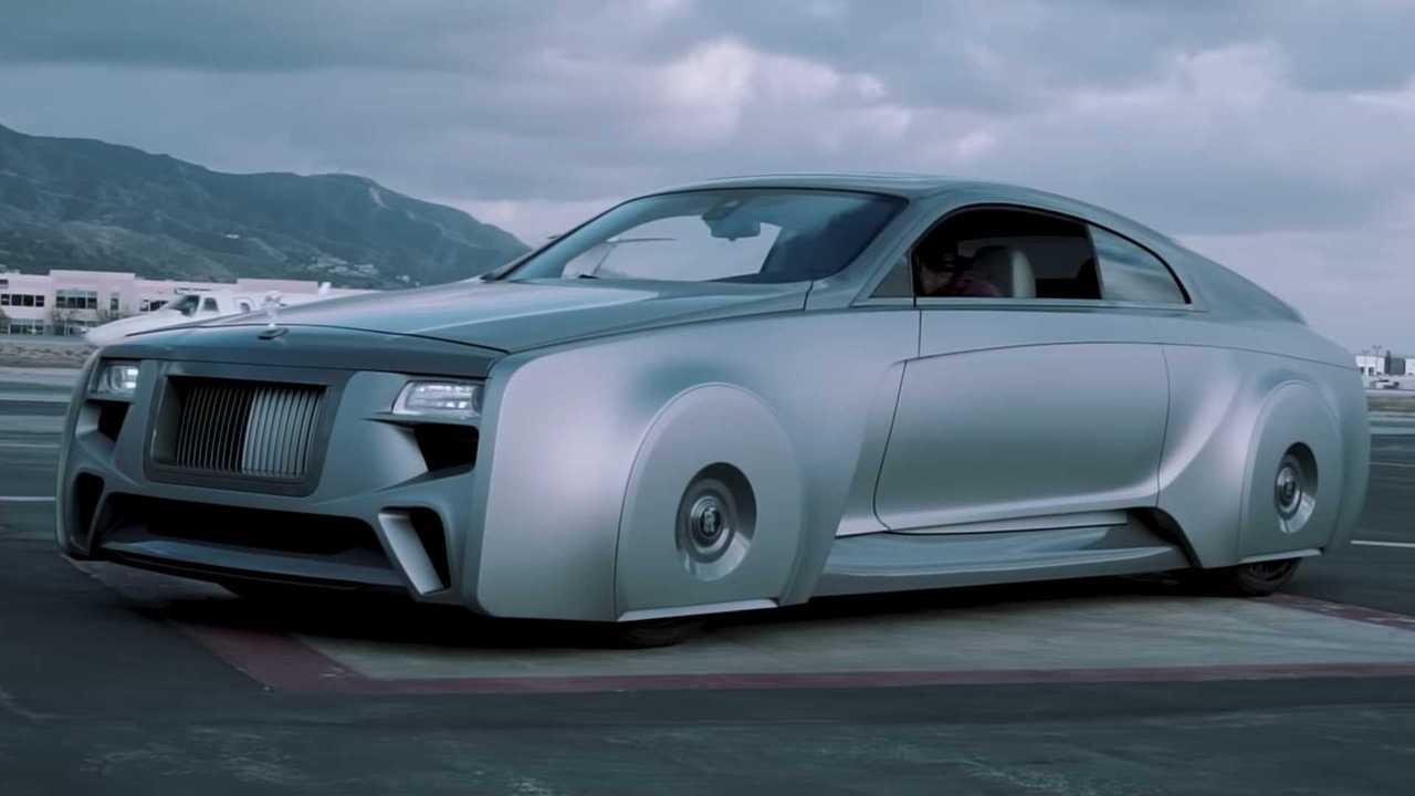 Justin Bieber's Custom Rolls-Royce Wraith