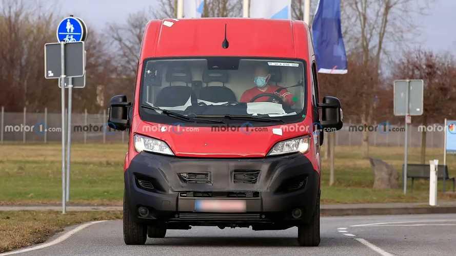 Fiat Professional Ducato le foto spia del restyling
