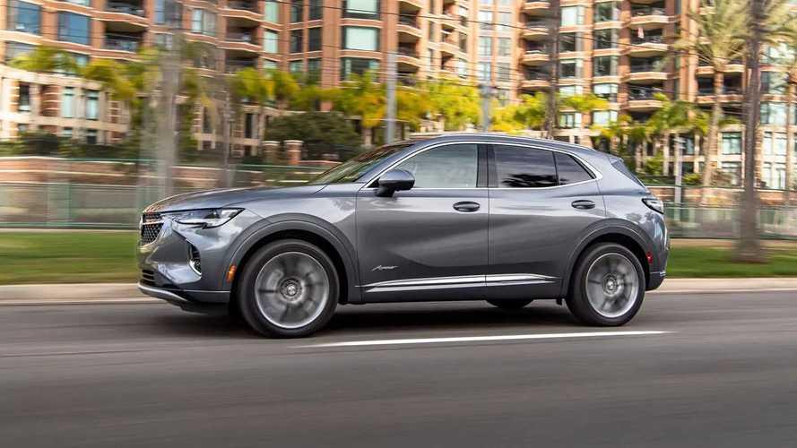 Новый Buick Envision для США