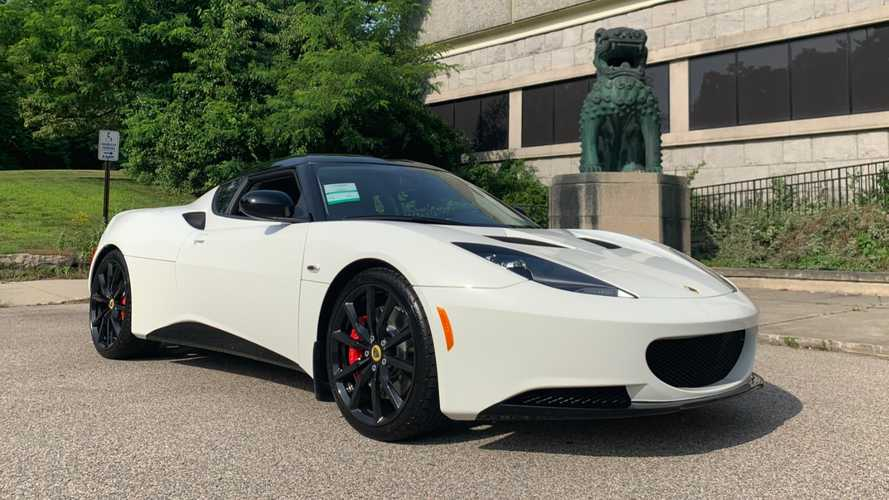 This new 2014 Lotus Evora finally sold after seven years on dealer lot in US