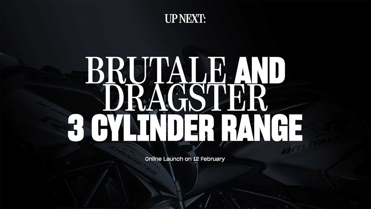 MV Agusta Brutale and Dragster 800 Teaser