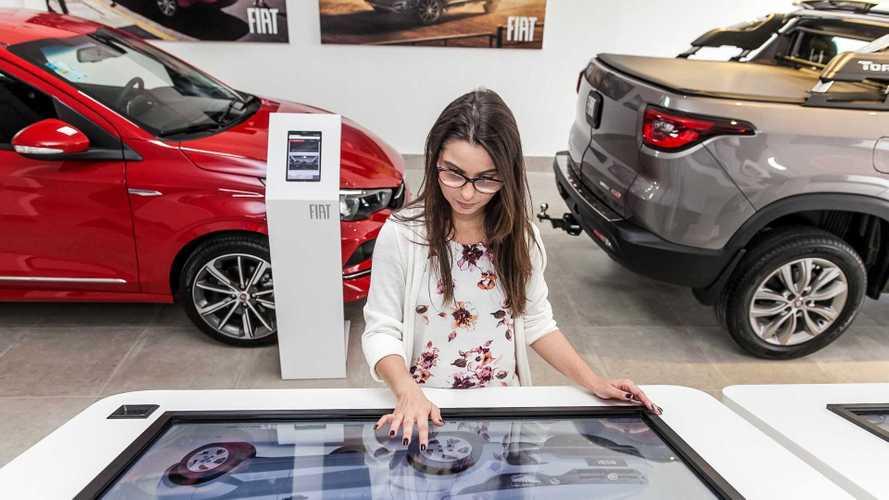 Fiat inaugura concessionária digital em SP; veja como funciona