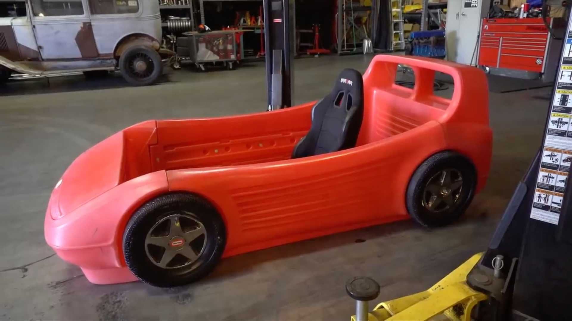 Hoonigans Turn Race Car Bed Into A Real Car