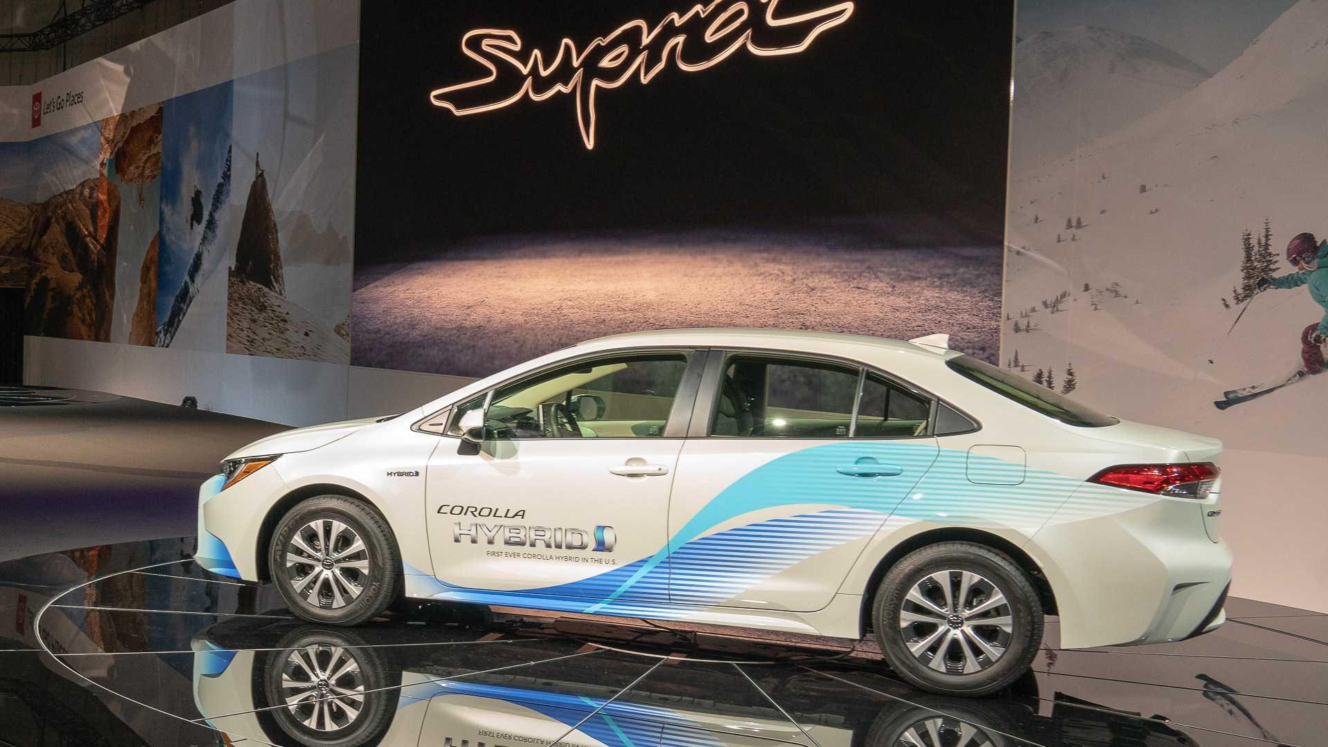 Toyota Corolla Hybrid Debuts As Normal-Looking Prius [UPDATE]