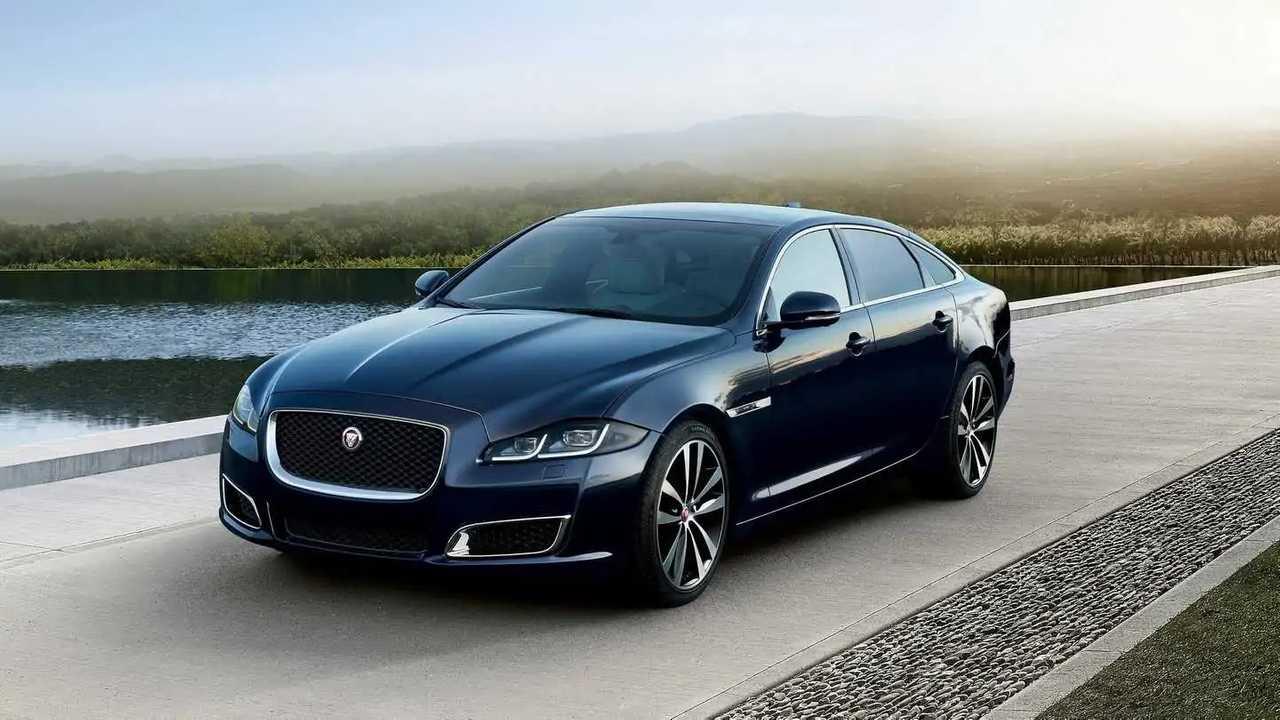 8. Jaguar XJ: 1,365 units