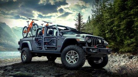 Jeep Gladiator, ecco gli accessori Mopar