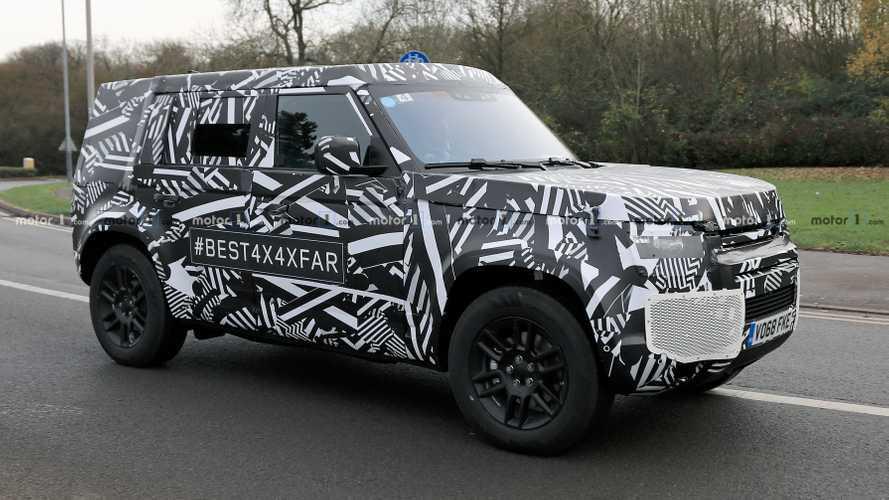 Le nouveau Land Rover Defender débusqué