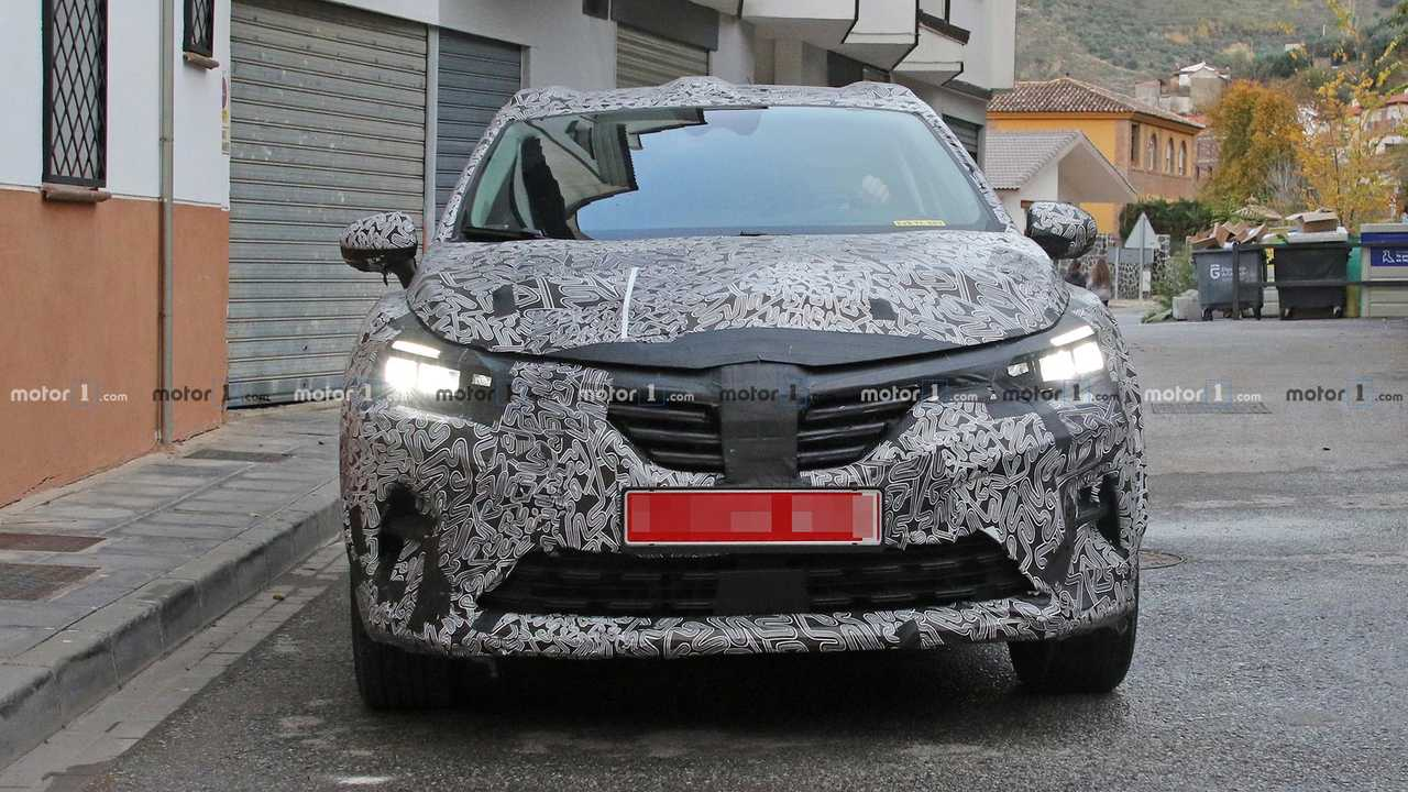 Рено Captur Spy Shots