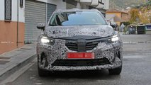 Renault Captur photos espion