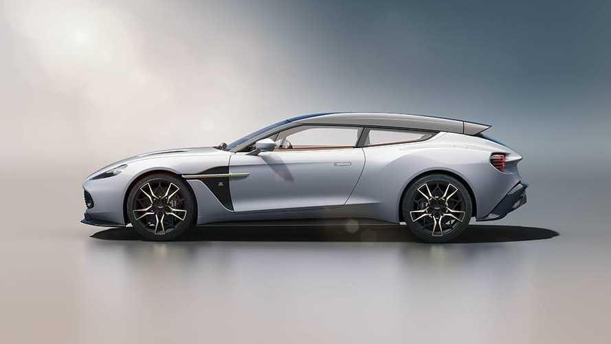 L'Aston Martin Vanquish Zagato Shooting Brake en montre un peu plus