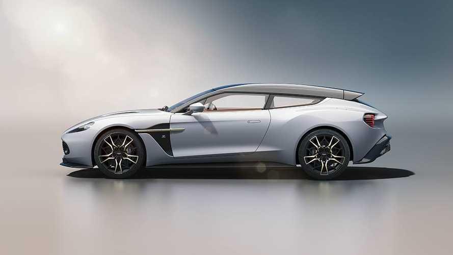 L'Aston Martin Vanquish Zagato Shooting Brake en montre un peu plus