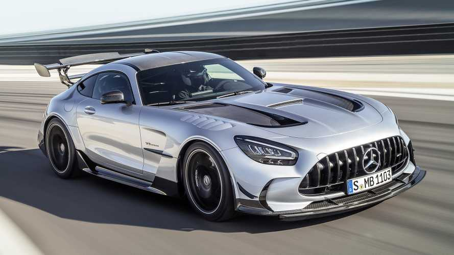 Possibile record al Nurburgring per la Mercedes-AMG GT Black Series