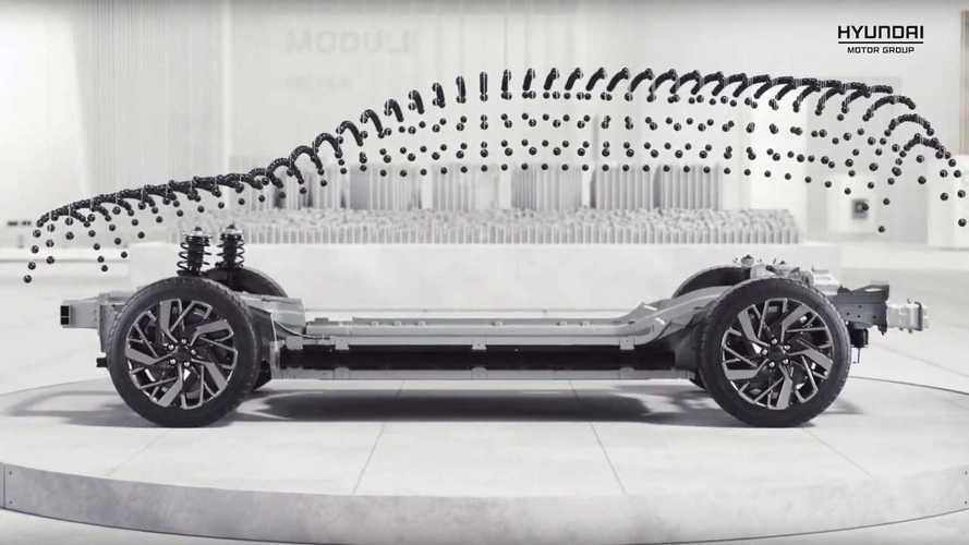 Hyundai представила платформу электрокаров с запасом хода в 500 км