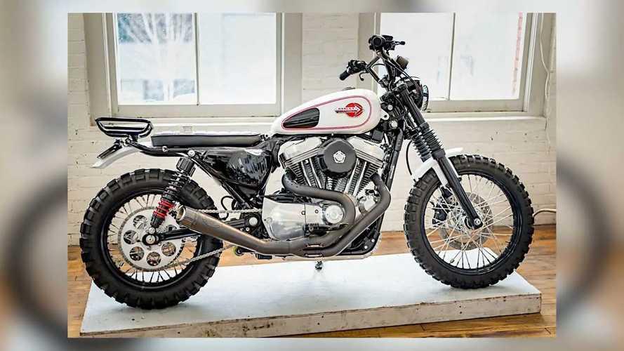 Burly Custom Harley-Davidson Sportster 883
