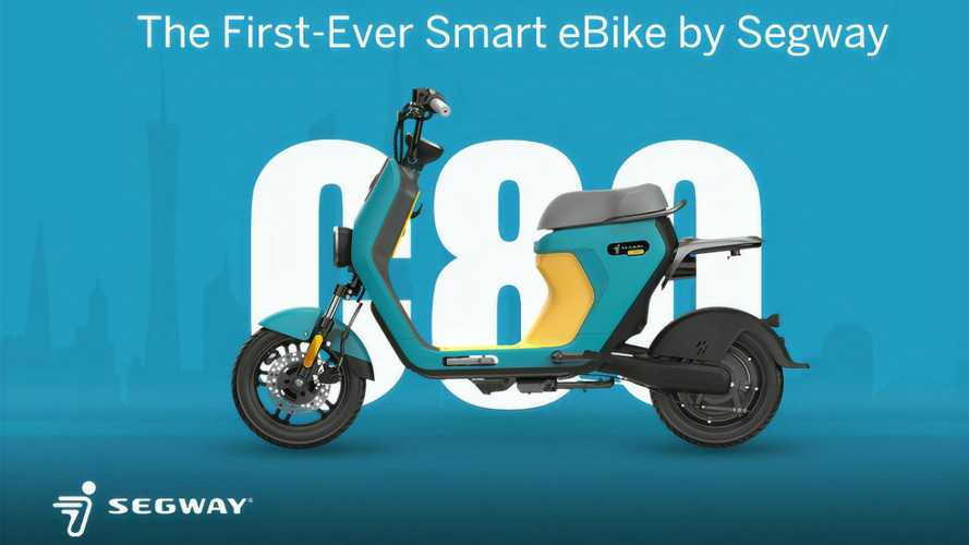Segway eMoped C80 Is Now Taking U.S. Pre-Orders