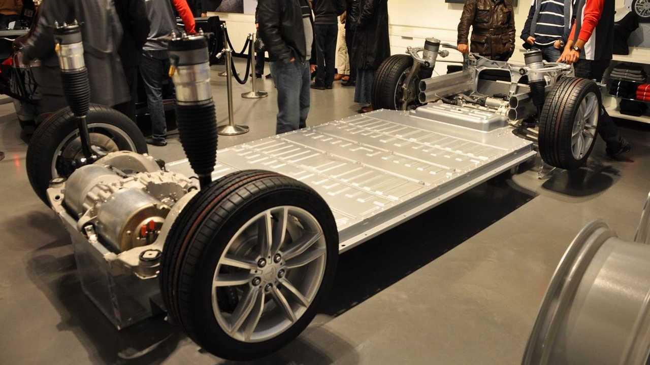 tesla skateboard chassis