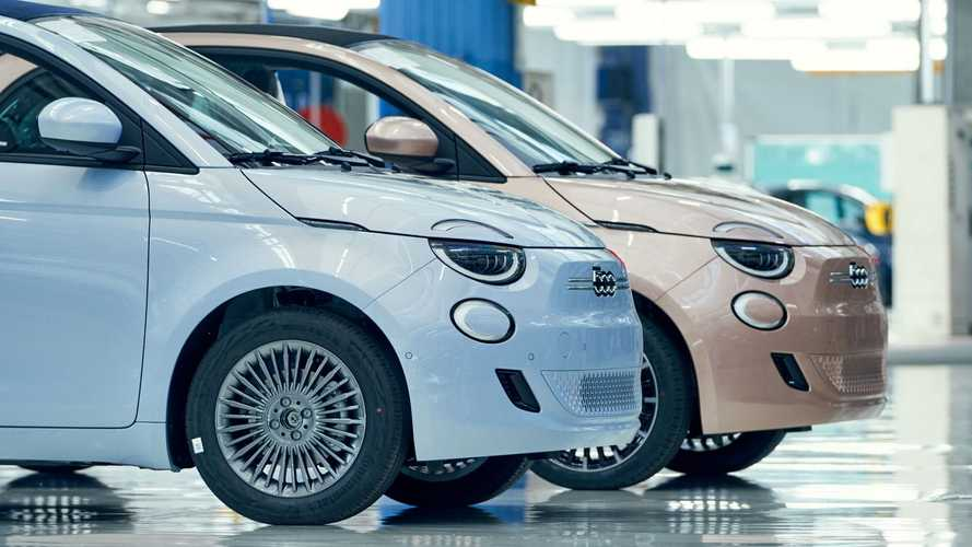 Fiat Shows Production Line Of The New 500 Electric