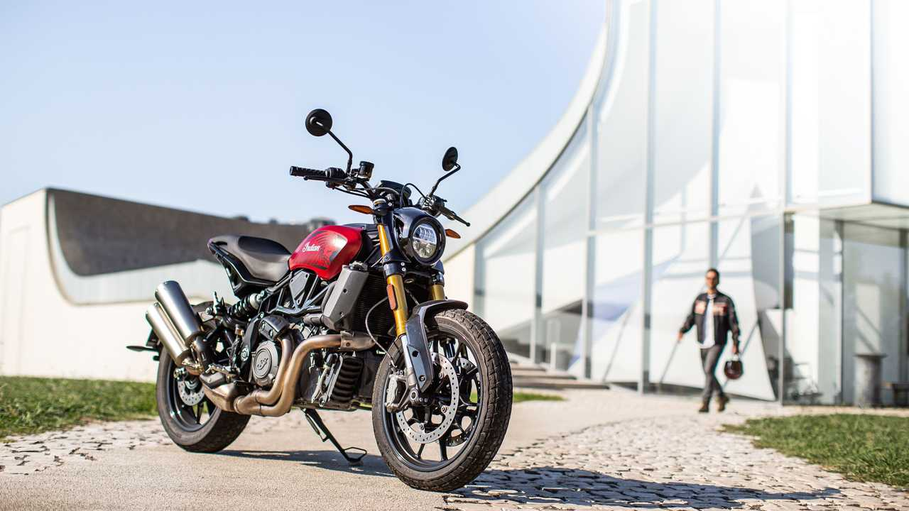 Indian FTR 1200 Ruby Smoke Limited Edition