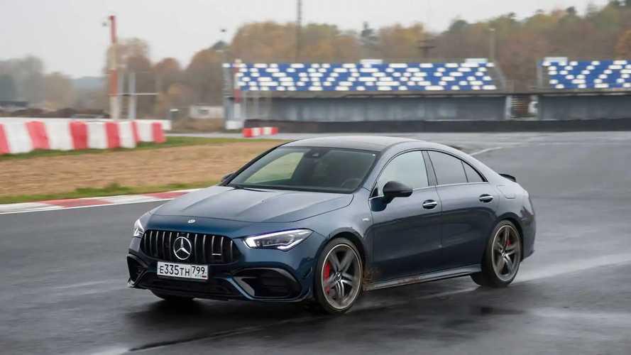 Mercedes-AMG CLA 45 S в Мячково