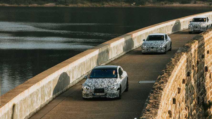 Электрический Mercedes-Benz E-класса получит сразу 3 AMG-версии
