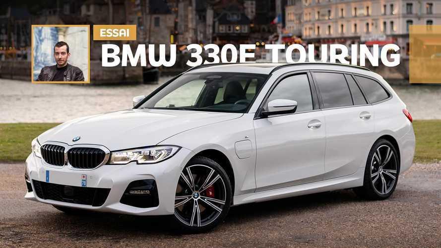 Essai BMW 330e Touring (2020) - Changement de cible