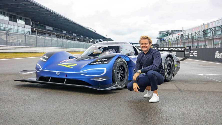 Rosberg s'est régalé sur le Nüburgring avec l'ID.R