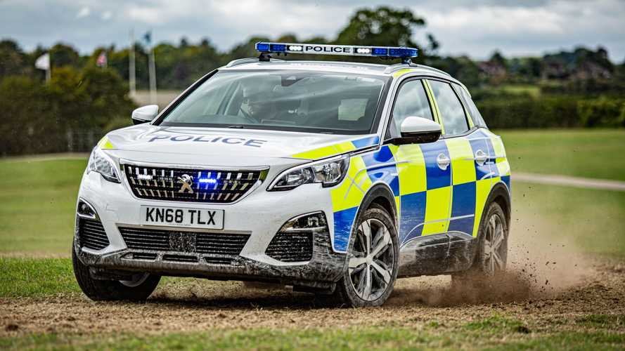 Peugeot delivers 611 vehicles to police and fire services across UK