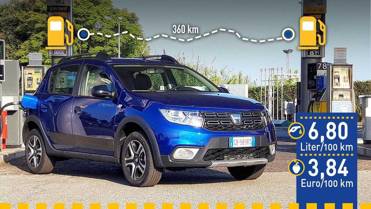 Dacia Sandero mit LPG (2020) im Verbrauchstest