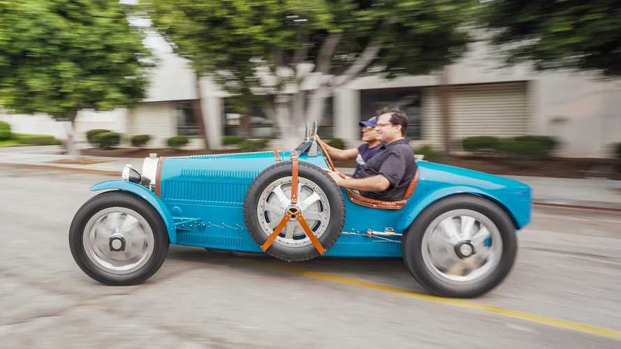 Pur Sang Type 35 Bugatti Replica Gets Wild In The Streets