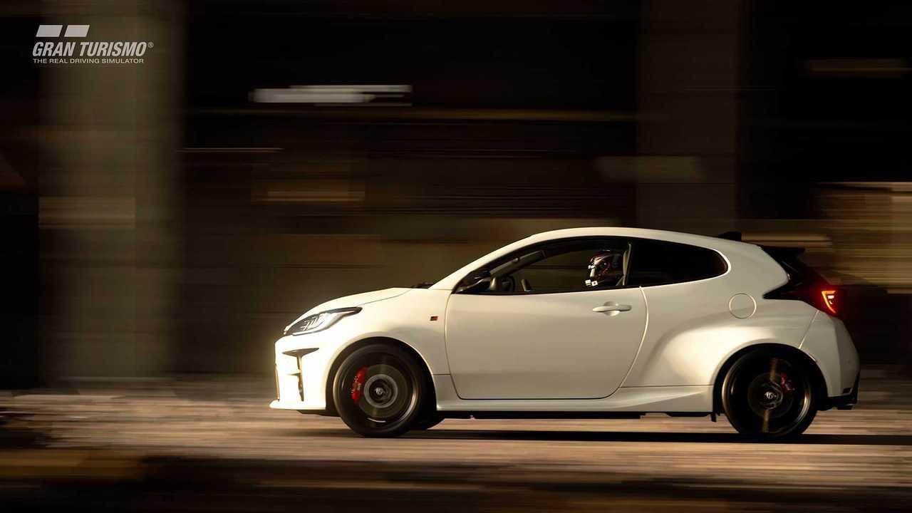 Toyota GR Yaris in Gran Turismo Sport