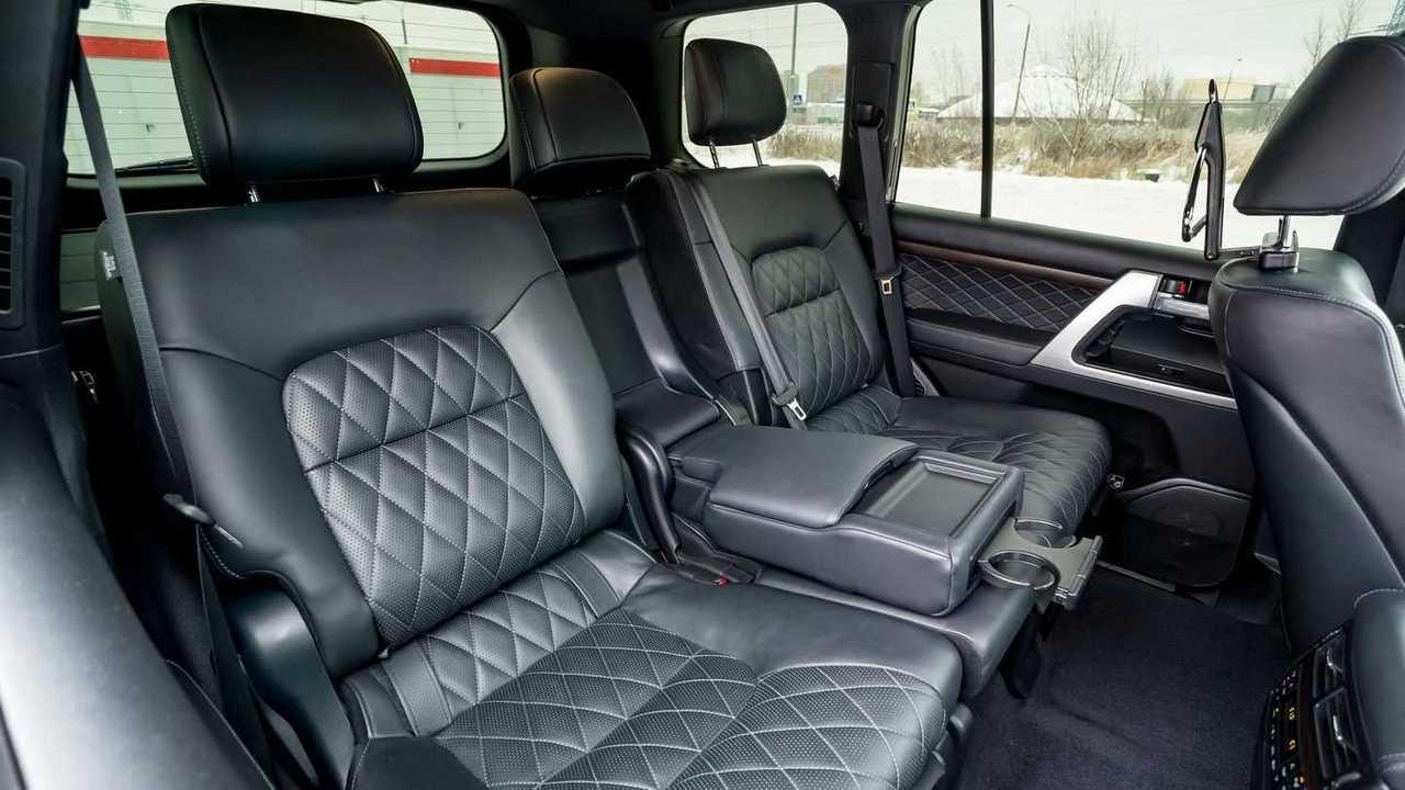 Задние сиденья Toyota Land Cruiser 200 Khann HRS