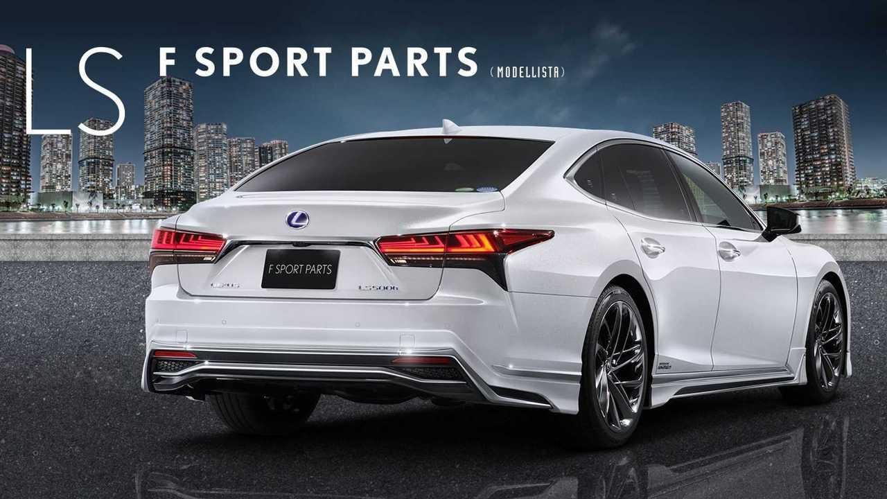 Lexus LS F Sport Modifiye Parçaları