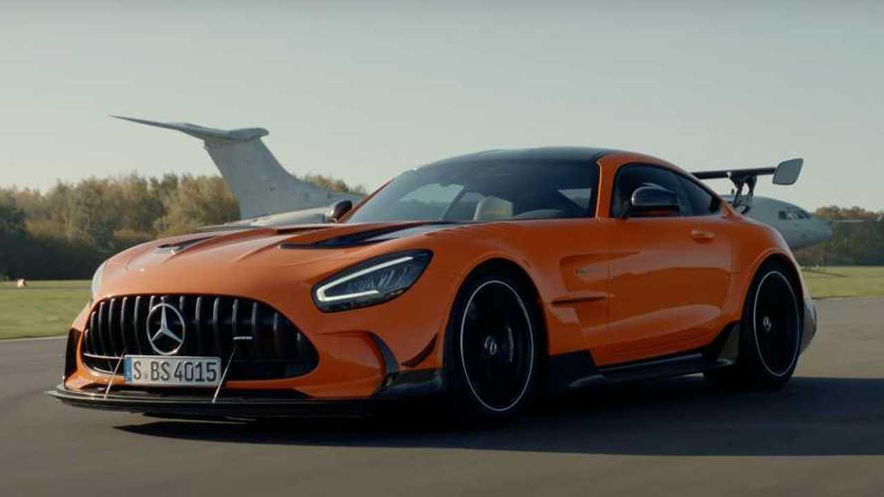 Top Gear bemutatja, mi olyan nagyszerű a Mercedes-AMG GT Black Series
