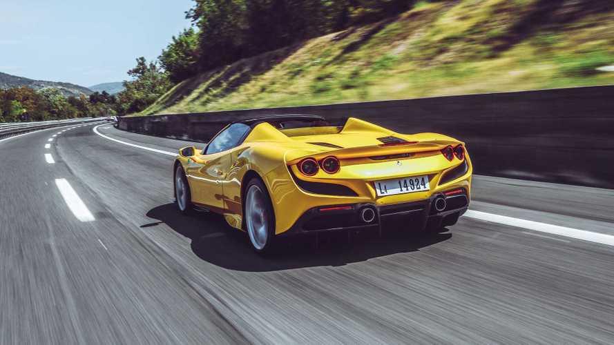 Ferrari F8 Spider 2020, prueba en carretera