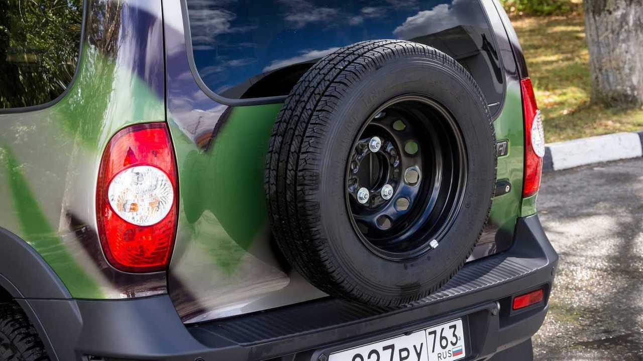 Lada Niva Off-road (2020) – запаска