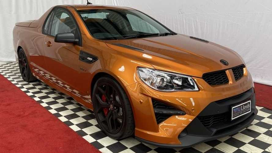Rare Holden HSV GTSR W1 Maloo Ute Auction Hits $557,000 With Many Days Left