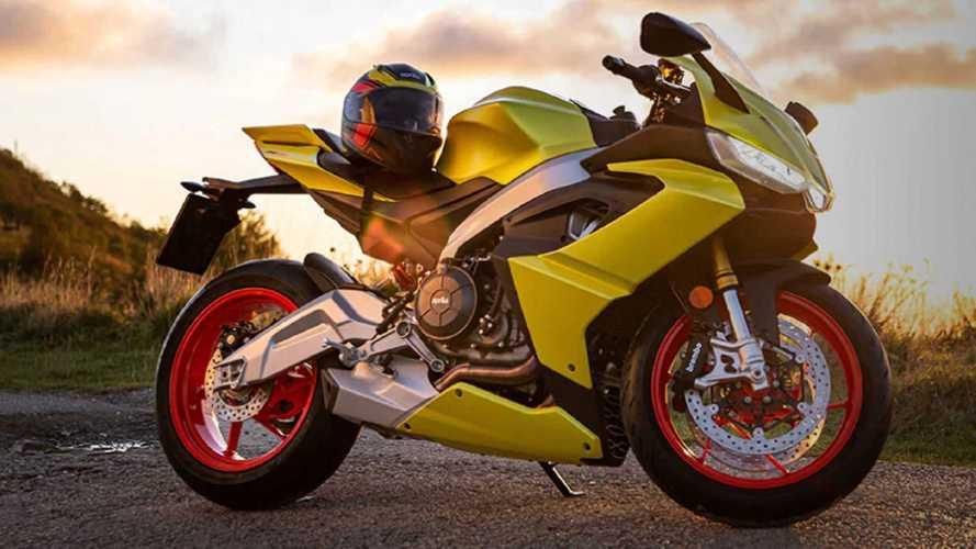 Aprilia RS 660, dal web spunta la colorazione Acid Gold