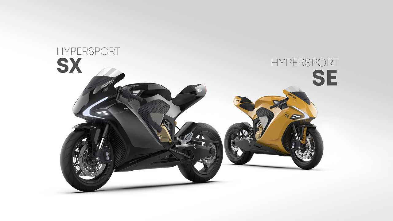 Damon Hypersport SE and SX