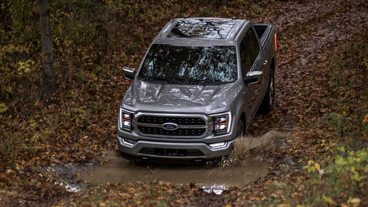 2021 Ford F-150 off-road front