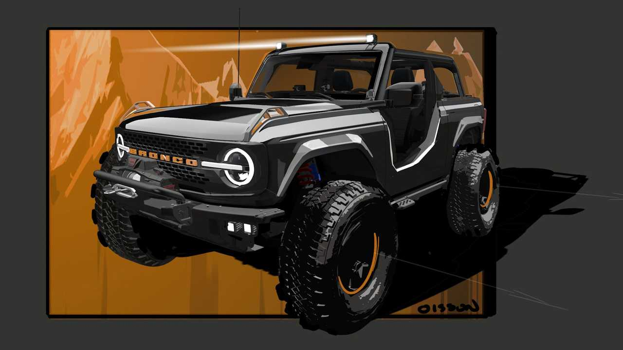 Ford Bronco Badlands Sasquatch Concept