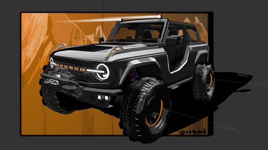 Ford Bronco SEMA Build Is A Rugged Off-Roader With Swappable Fenders