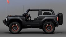 Ford Bronco Badlands Sasquatch Two-Door Concept