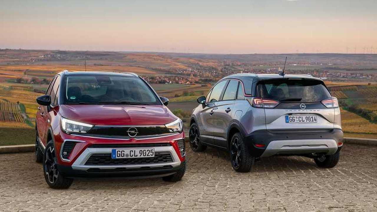 Gama Opel Crossland 2021