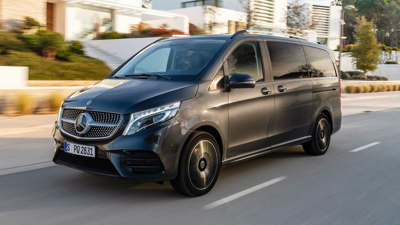 Mercedes-Benz V-Class with air suspension
