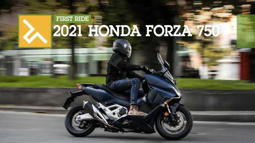 First Ride: 2021 Honda Forza 750
